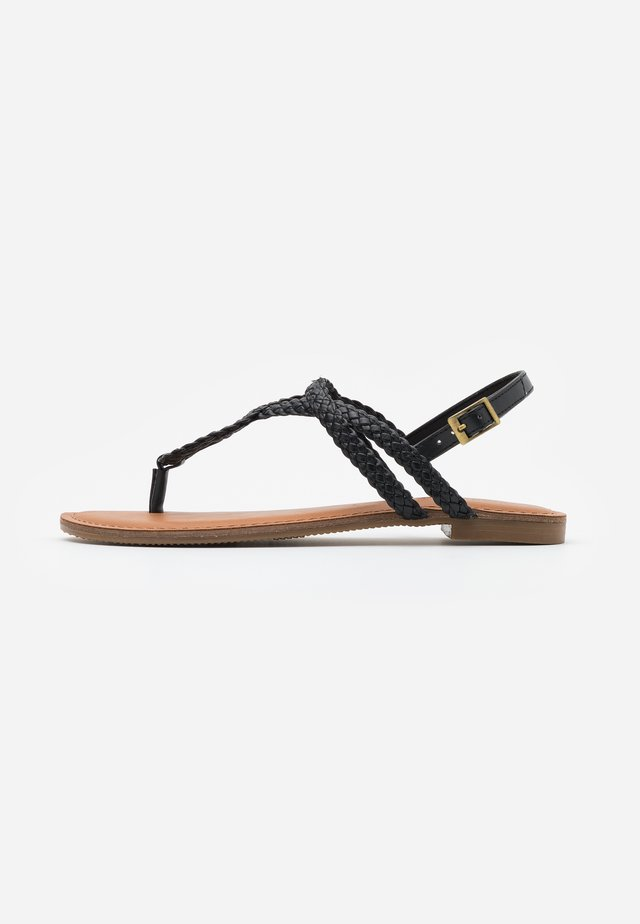 ARIAA - T-bar sandals - black paris