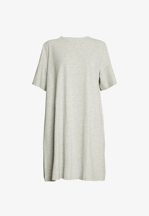 TRISH DRESS - Jersey dress - grey melange