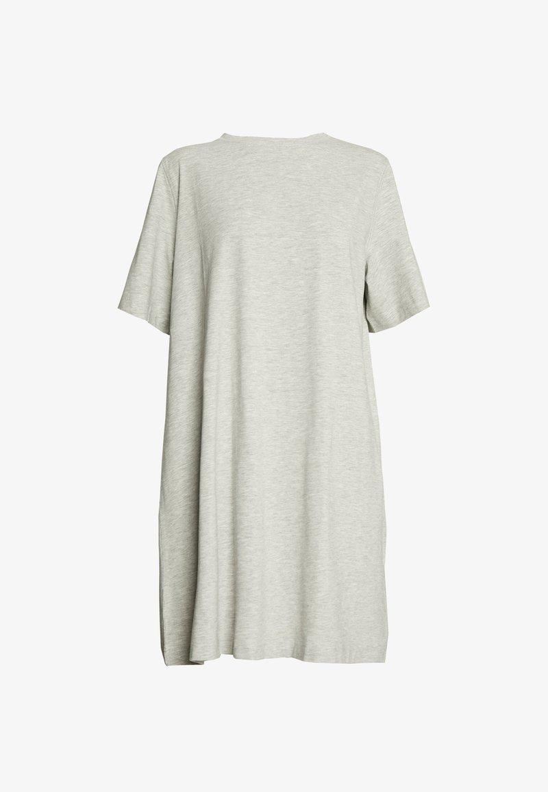 Weekday - TRISH DRESS - Jersey dress - grey melange