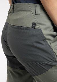 Haglöfs - Outdoor trousers - lite beluga/magnetite - 3