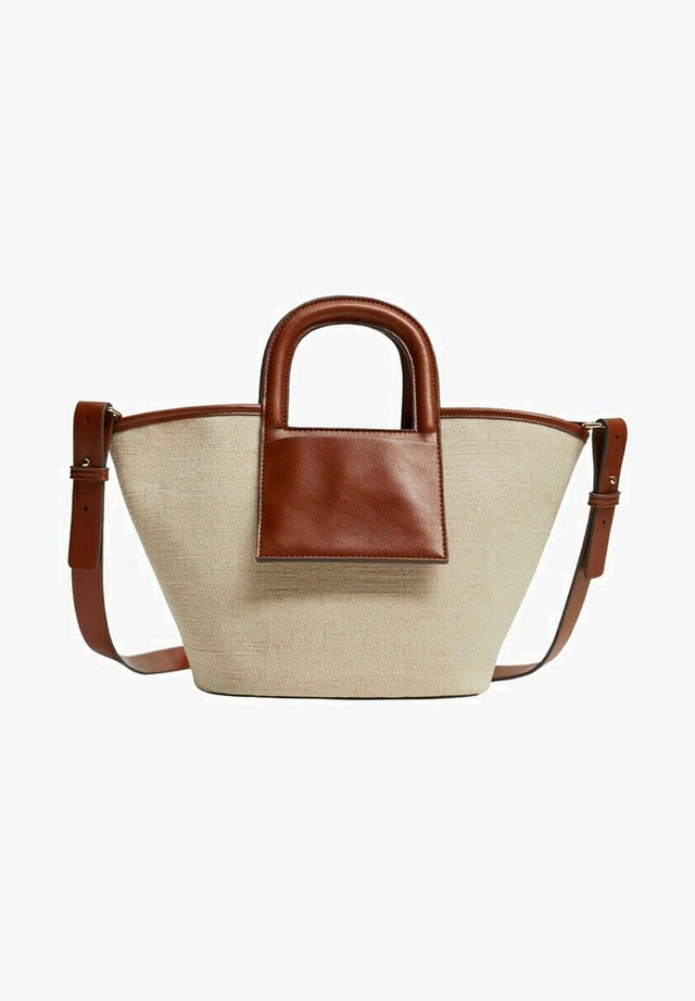 AMBERLEY - Shopper - beige