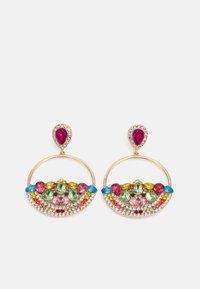 Fire & Glory - FGMETTE EARRINGS - Earrings - gold-coloured/multi - 0