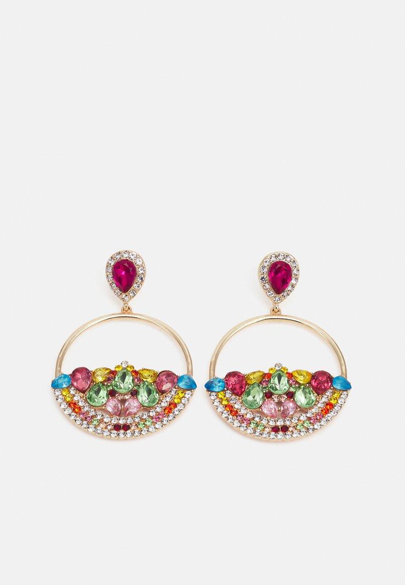 Fire & Glory - FGMETTE EARRINGS - Earrings - gold-coloured/multi