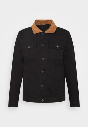 KASH JACKET - Giacca di jeans - black
