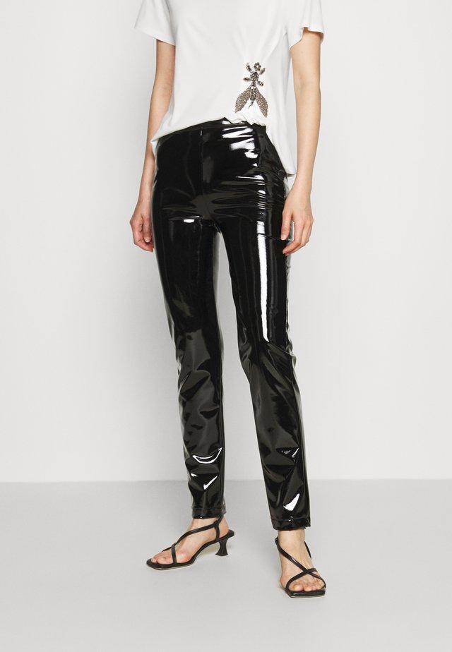 PANTS - Spodnie materiałowe - nero