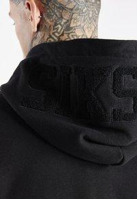 SIKSILK - SPACE JAM LOGO HOODIE - Sweatshirt - black - 4