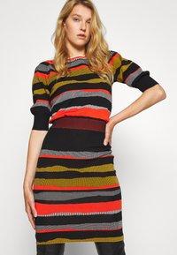 Diane von Furstenberg - SHIRA SKIRT - Mini skirt - black/red/grey - 3