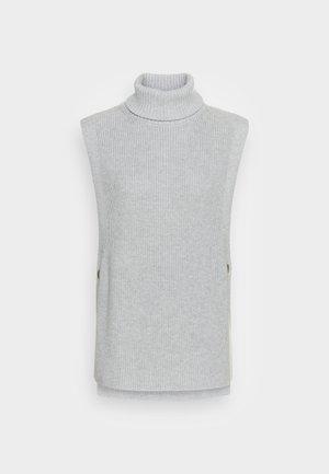 CORE - Strikkegenser - light grey
