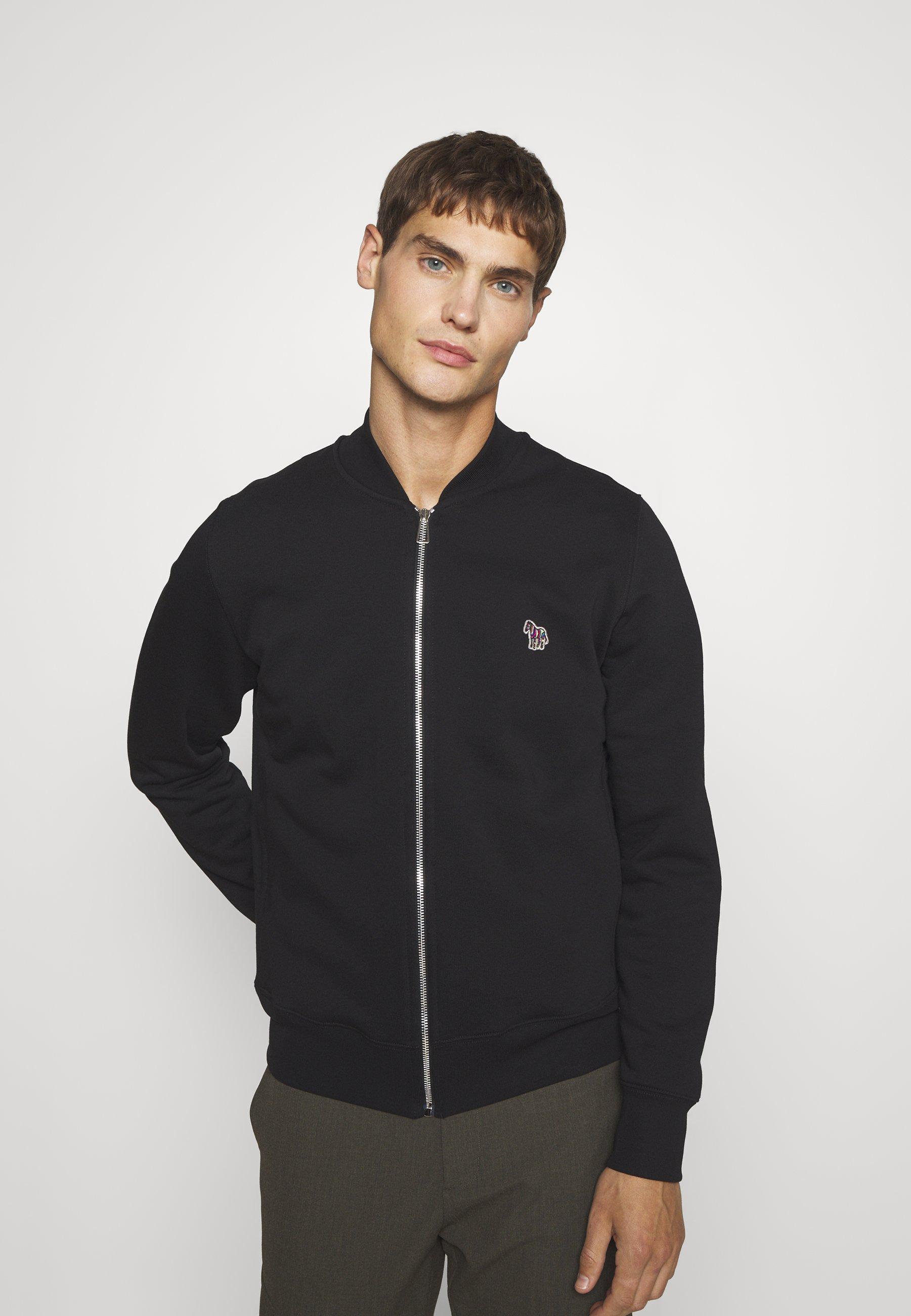 Men REG FIT ZIP UNISEX - Zip-up sweatshirt