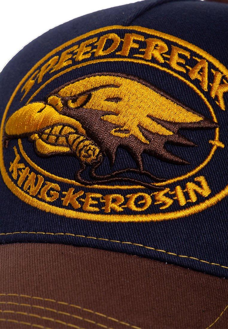 King Kerosin Mit Kontrastierender Stickerei Speedfre - Cap Dunkelblau