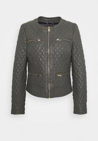 Oakwood - IRINA - Leather jacket - light grey - 0
