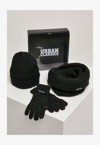 Urban Classics - CLASSIC SET - Scarf - black - 0