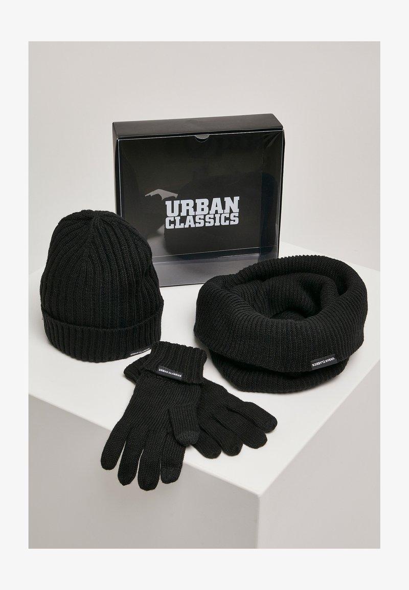 Urban Classics - CLASSIC SET - Scarf - black