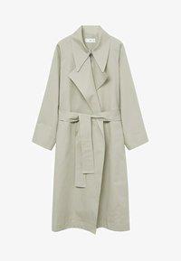 Mango - Classic coat - vert pastel - 4