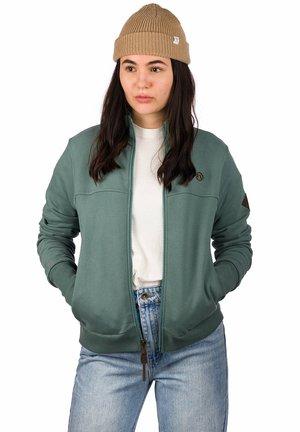 Training jacket - silver pine