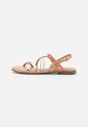 Sandals - almond