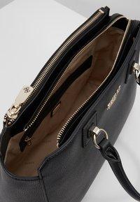 Guess - ALMA SOCIETY SATCHEL - Handbag - black - 4