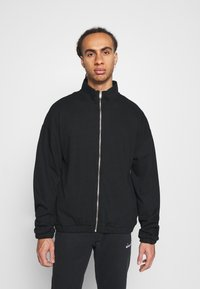NU-IN - ZIP UP TRACK - Zip-up hoodie - black - 0