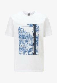 BOSS - Print T-shirt - natural - 3