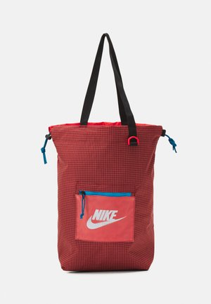 HERITAGE UNISEX - Tote bag - dark cayenne/chile red/black
