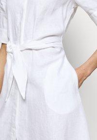 Lauren Ralph Lauren - CLASSIC DRESS - Shirt dress - white - 4