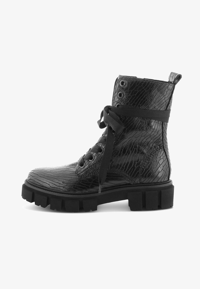 VIDA - Platform ankle boots - schwarz