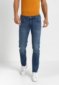 Lee - DAREN ZIP FLY - Jeans Straight Leg - time out - 0