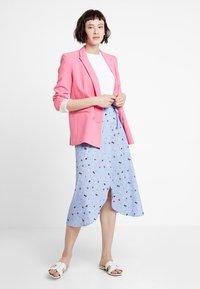mint&berry - Wrap skirt - light blue - 1