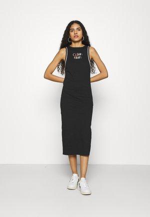 PRIDE DRESS - Jersey dress - black