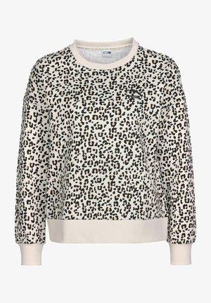 Sweatshirt - vaporous gray/animal