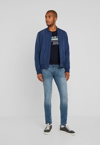 TOM TAILOR DENIM - CULVER  - Jeans Skinny Fit - blue grey denim - 1