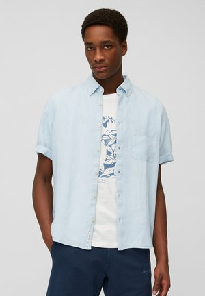 BUTTON DOWN SHORT SLEEVE - Overhemd - palace pearl