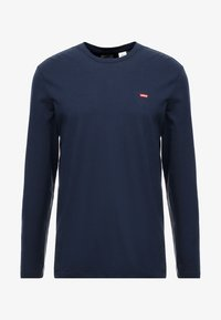 Levi's® - ORIGINAL TEE - T-shirt à manches longues - dress blues - 4