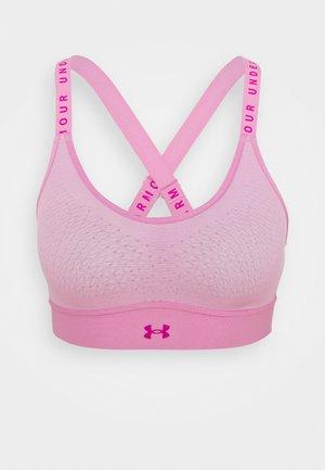 INFINITY MID BRA - Medium support sports bra - planet pink