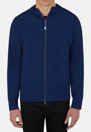 THOMAS MIT KAPUZE - Zip-up sweatshirt - marine