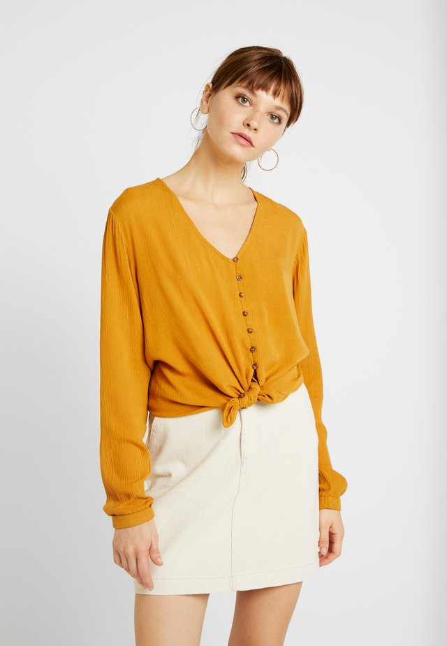 BSSLAN - Blouse - buckthorn brown