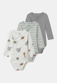 Carter's - WRAP ANIMAL 3 PACK UNISEX - Body - multi-coloured/white - 0