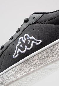 Kappa - MESETA - Sports shoes - black/white - 5