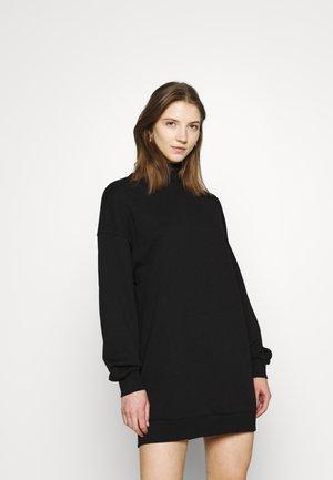 ONLHOLLIE HIGHNECK DRESS - Denní šaty - black