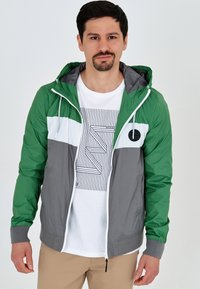 INDICODE JEANS - CHICKSAND - Outdoor jacket - green - 4