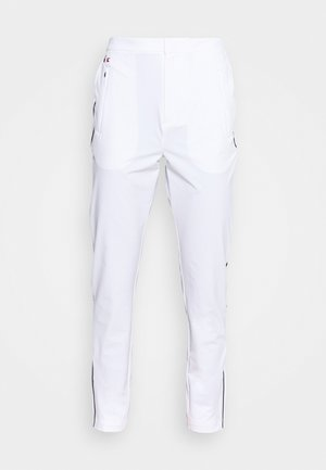 OLYMP TRACK PANT - Pantalon de survêtement - white/navy blue