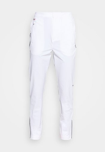 OLYMP TRACK PANT - Tracksuit bottoms - white/navy blue