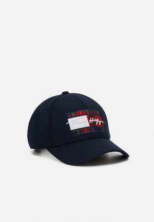 SIGNATURE FLAG UNISEX - Caps - blue