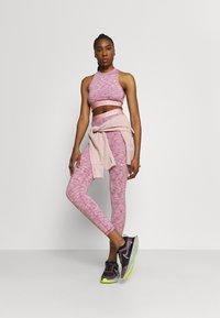 Nike Performance - TANK  - Débardeur - sweet beet/pink glaze/white - 1