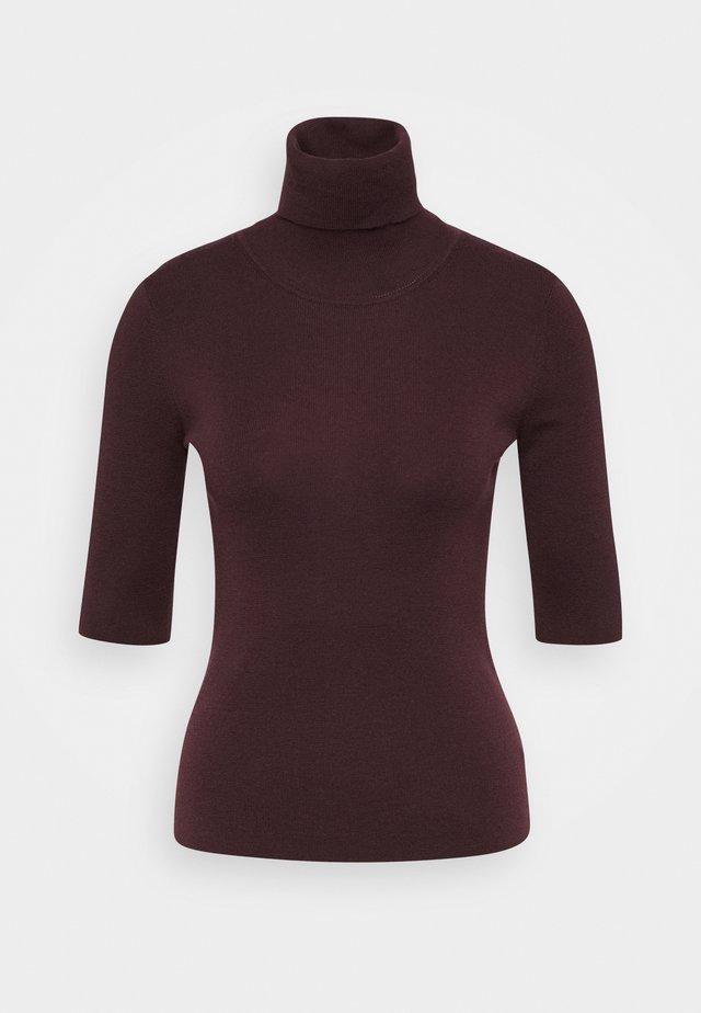 ELBOW SLEEVE - Basic T-shirt - maroon