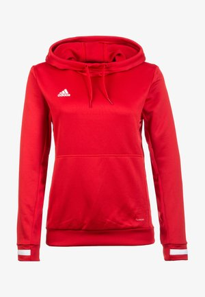 TEAM 19  - Sweat à capuche - red
