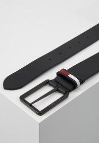 Tommy Jeans - FLAG INLAY - Belt - black - 2