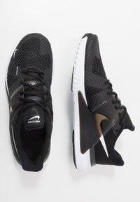 Nike Performance - RENEW FUSION - Sportovní boty - black/white/dark smoke grey - 1