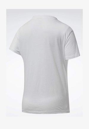 TRAINING ESSENTIALS GRAPHIC T-SHIRT - T-shirts med print - white