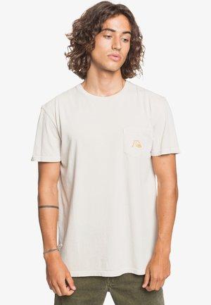 BASIC BUBBLE - Print T-shirt - parchment